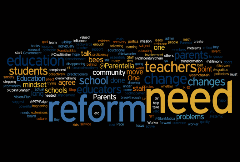 Reform in Further Education