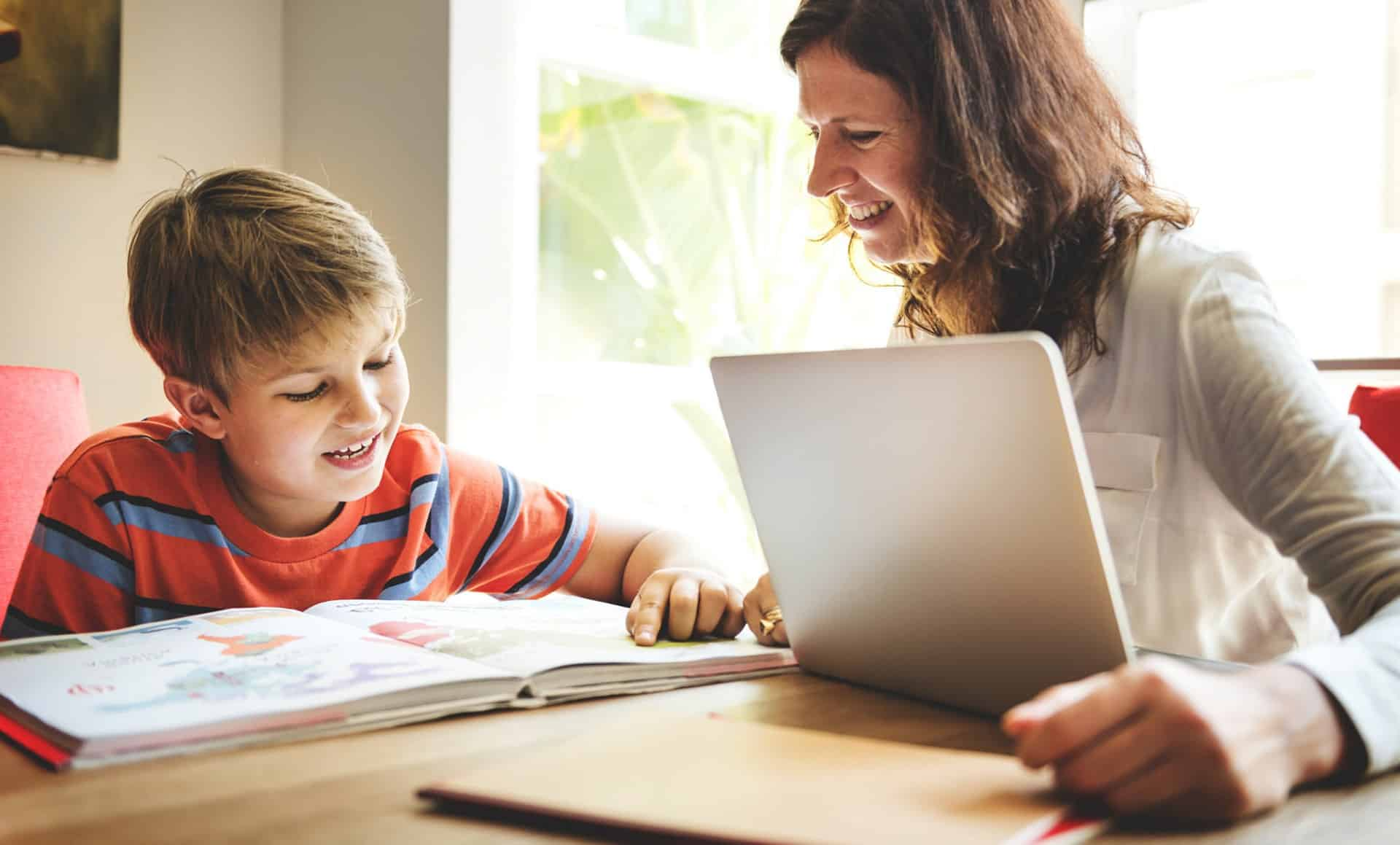5 tips for home schooling - Prioritise your child's wellbeing - SFE Academy